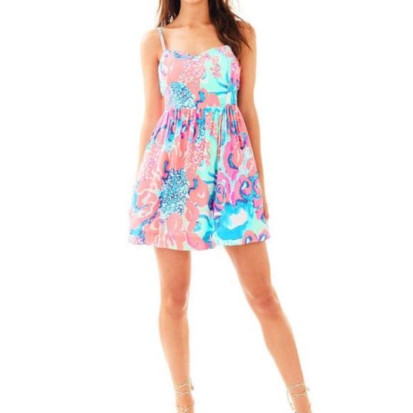dfcbfec8a7ec Lilly Pulitzer Dresses | Nwt Christine Dress In Coral Reef | Poshmark